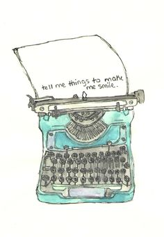 A TypeWriter -By Keya Dutta
